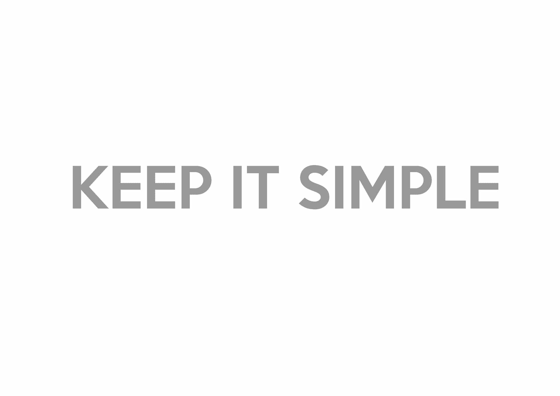 christians lets keep it simple