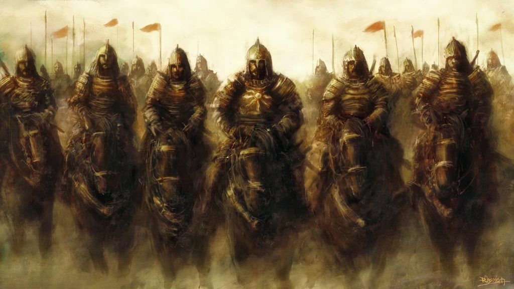 King David and his mighty warriors
